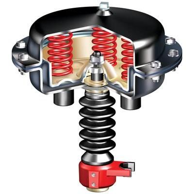 Клапан запорный сильфонный НЗ или НО под электропневмопривод